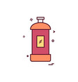 spray icon design vector image