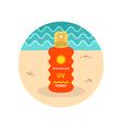 Sun Cream in Spray icon Summer Vacation vector image vector image