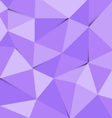 Violet polygon abstract triangle background vector image vector image