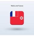 Wallis and Futuna flag icon vector image