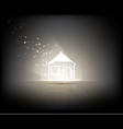 Illuminated Home vector image