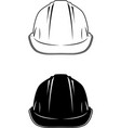 hardhat02 vector image vector image