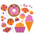 sugar candy vector image vector image