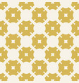 yellow seamless pattern abstract floral texture vector image
