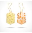 Modern sale badge vector image