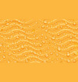 background waves and water drops vector image vector image