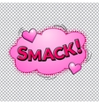 Comic bubbles isolated vector image