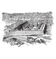 jerusalem temple vintage vector image vector image