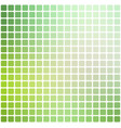 light green shades rounded mosaic background over vector image vector image