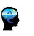 Ocean dreams vector image vector image