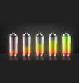 set battery charge indicators