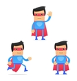 Set of funny cartoon superhero vector | Price: 3 Credits (USD $3)