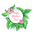 mothers day sketch vector image