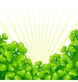 Greeting card for Saint Patricks day vector image vector image