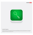 racket shuttlecock icon green web button vector image