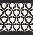 seamless geometric pattern with hexagone vector image