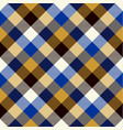 tartan seamless pattern background black blue vector image vector image