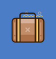 briefcase icon set of great flat icons use for vector image vector image