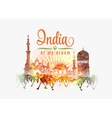 india my dream india in vector image