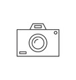 Photo camera icon vector image