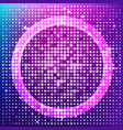 radiant halftone background vector image vector image
