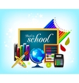 school icon vector image vector image