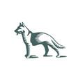 shepherd logo vector image vector image