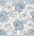 vintage seamless pattern white pastel vector image vector image