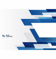 abstract technology gradient blue stripe line vector image vector image