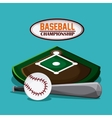 Baseball design sport concept Flat vector image vector image