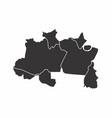 brazil north region vector image vector image