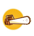 chain saw vector image vector image