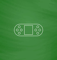Game Console computer symbol vector image vector image