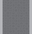 gray puzzle seamless vector image vector image