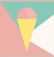 ice cream icon isolated on background modern flat vector image