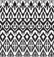 Ikat pattern vector image vector image