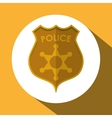 Law and Justice sign design vector image vector image
