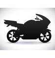 Motorcycle design vector image vector image