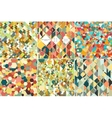 Set of colorful geometric backgrounds abstract vector image vector image