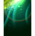 shiny wave background vector image vector image