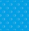 volume up pattern seamless blue vector image