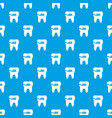 cleaning tooth pattern seamless blue vector image vector image