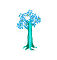 fantasy magic tree object for witchcraft vector image