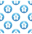 House with dollar sign pattern vector image vector image