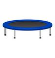 kid trampoline icon realistic style vector image vector image