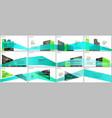 presentations design portfolio templates vector image