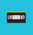 video cassette tapes in flat style vector image vector image
