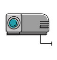 beam video isolated icon vector image