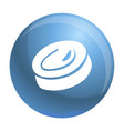 candy swirl icon simple style vector image vector image