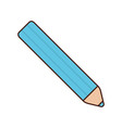 color pencil icon vector image vector image